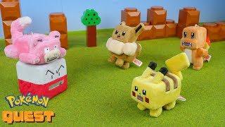 Pokemon Quest Plush Mascot | Stop Motion Video