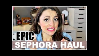 Makeup Collection - EPIC Sephora Haul 2016 + New at Drugstore!
