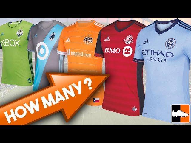 2017 MLS Jerseys! How Many Do You Know?