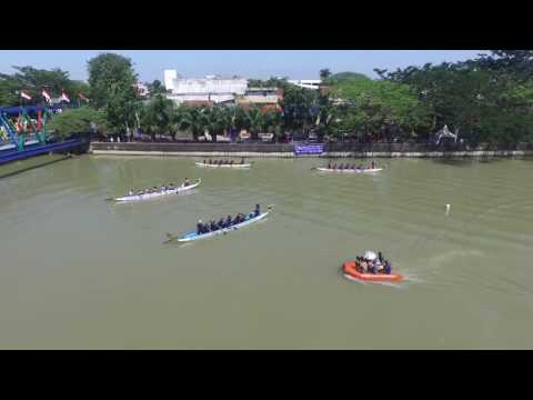 Semi Final Dragon dan kayak 2 Festival Cisadane 2016