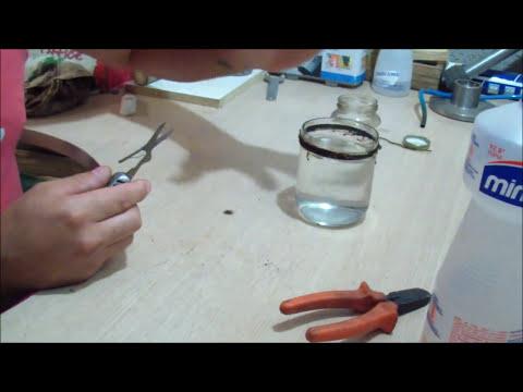 Como cortar garrafas