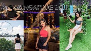 TRAVEL VLOG - SINGAPORE 2018 | Tanisha Aggarwal