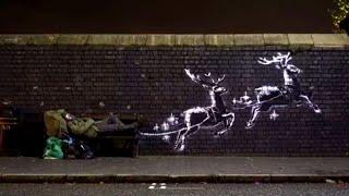 New Banksy Mural Shines Light on Homelessness