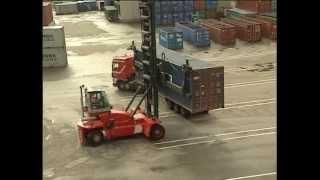 Kalmar DCF100 Empty Container Handler