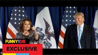 Sarah Palin At A Donald Trump Rally: Lowlight Compilation