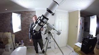 Testing Out The New Telescope - Astronomy, The Journey Begins