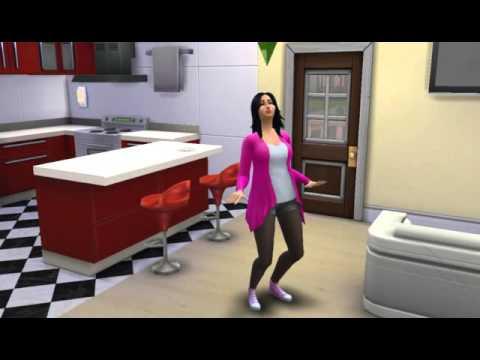 The sims 4 Grávida dançando