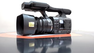 [Hindi] KameraMan: Panasonic PV100 Camcorder Unboxing India hands-On