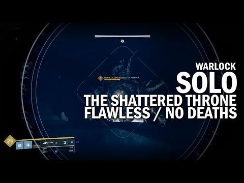 Xxx Mp4 Solo Flawless The Shattered Throne Dungeon Warlock Destiny 2 Forsaken 3gp Sex