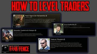 Escape From Tarkov - How To Level Traders