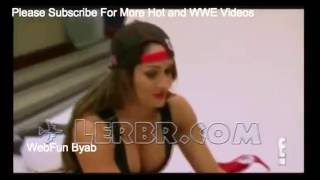 WWE Divas hot sexy moments oops boobs (Nikki bella and Eva Marie with Paige )