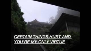 Certain things - James aruther ( Lyrics below )