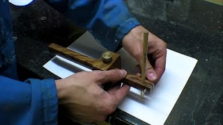 Marking Gauge Beam Compass - Hand Tool Modification