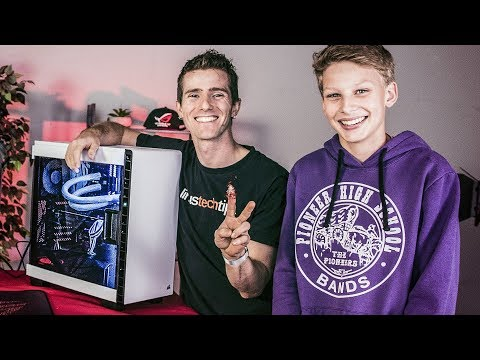 BUILDING HIS DREAM PC ROG Rig Reboot