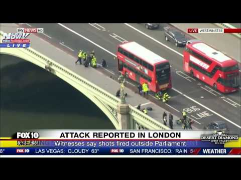 FNN Deadly TERROR Attack in London People Struck on Westminster Bridge FULL COVERAGE