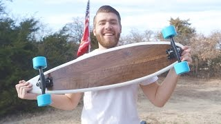 How To Build a Longboard   With Template   Modern Builds   EP. 20