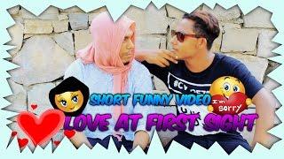 Sylheti funny short video Love at first sight