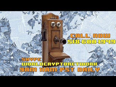 Xxx Mp4 Sunday Morning Bitcoin Talk Show LIVE Call 518 600 1949 Skype WorldCryptoNetwork 3gp Sex