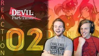 SOS Bros React - Devil Is A Part Timer Episode 2 - Is He Actually Satan??