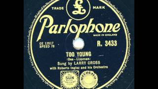 Roberto Inglez and his Orchestra - Too Youg