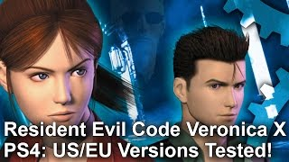 Resident Evil Code Veronica X PS4/PS4 Pro - EU and US Versions Tested