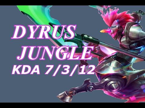 Dyrus - Hecarim Jungle - NA LOL Solo Rank