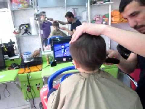 Üsküdar'da Çocuk Kuaförü