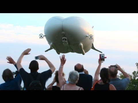 'Flying Bum' takes to the skies