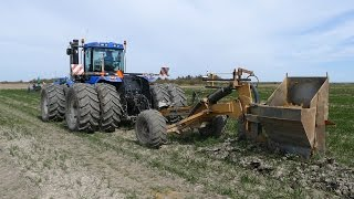 New Holland T9040 Doing Field Drainage w/ Soil-Max Gold Digger Pro | Ilderhede Kloak & Spuleservice