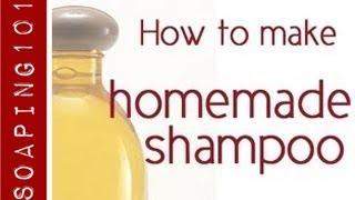How to Make Homemade Shampoo