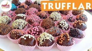 Pratik Harika Trufflar - Çikolatalı Tarifi - Nefis Yemek Tarifleri