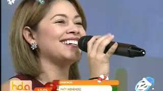 Paty Menéndez y su increíble voz