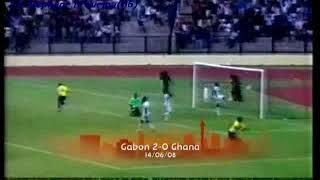 QWC 2010 Gabon vs. Ghana 2-0 (14.06.2008)