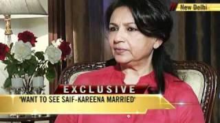 Sharmila on Saif-Kareena marriage