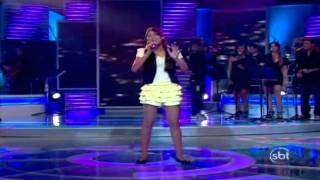 Brenda Santos sings I Believe I Cant Fly - The X Factor Brazil (Young Talents 2010)