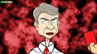 🔫Wenger   BAD BLOOD PARODY!🔫 Chelsea vs Arsenal 2 0 Diego Costa Gabriel Red Card Highlights 2015