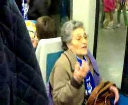 Velha Portista Paródia no Metro