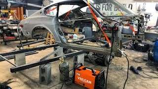 Welding up the 240Z Chassis & Migmax 215 Welder Review