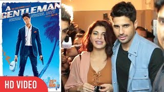 Sidharth Malhotra And Jacqueline Fernandez | A Gentleman | A Gentleman Special Screening
