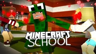 Minecraft School - WHO SHOULD I TAKE TO PROM?! w/ Little Lizard