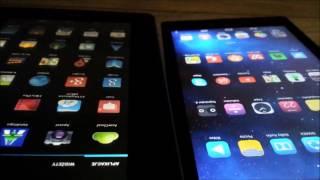 Screen Compare IPS vs TFT  (Tablet Screen Comparision - Lenovo vs Acer)