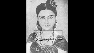#0(.PARO DEVI-Film~AMAR ASHA~[1947]~Mohabbat Jatane Ko Jee Chahata Hai~[ Rare Gem ]