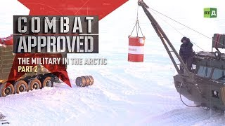 The Military in the Arctic: Across a frozen sea aboard Russian ATVs - Part 2