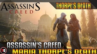 Assassin's Creed: Revelations - Maria Thorpe's Death