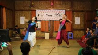 Shomoy Churi : Dance by SPaRC's Muktasree and Tori