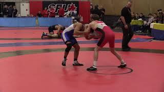 2018 Commonwealth Games Trials: 65 kg Josh Lee vs. Vincent De Marinis