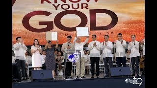 Greeting and Commendations   Know Your God - JIL Church Worldwide's 39th Anniversary
