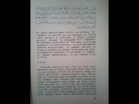 Ringkasan Jami'ush shighor  bagian 1  Jaka kendi