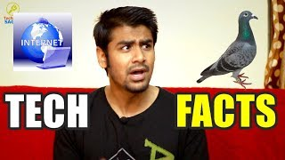 Carrier Pigeon Faster Than Internet ?  | Technology Facts |