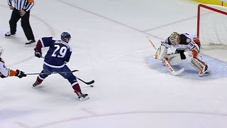 Gotta See It: MacKinnon uses super speed to score on breakaway